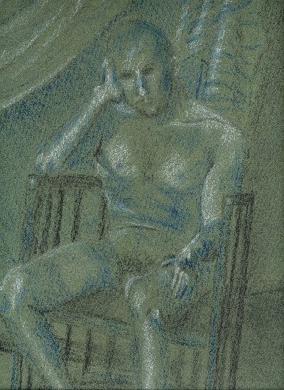 another section of the drawing with nude male