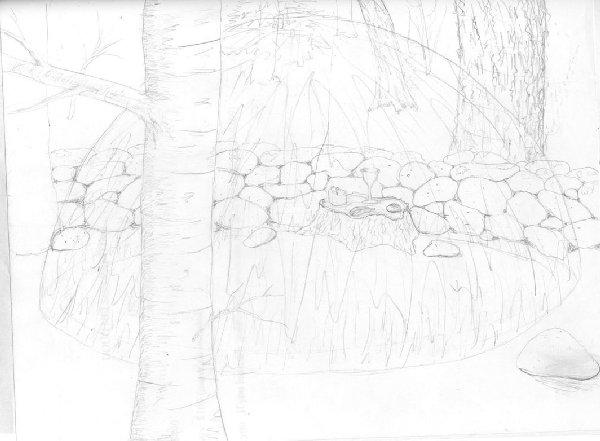 altar, sketch
