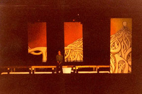 The set of 'Jesus Christ Superstar'